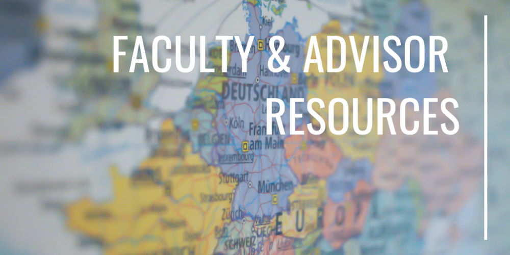 Faculty & Advisor Resources