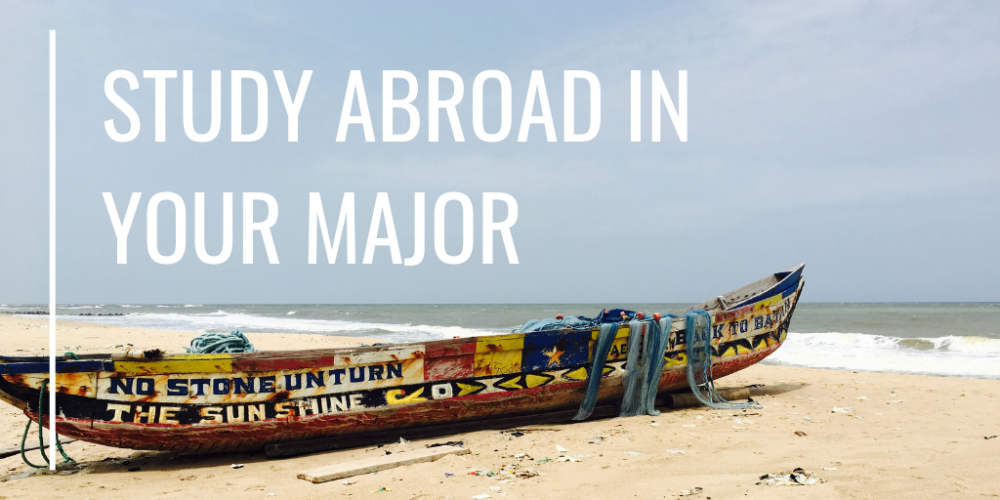 Study Abroad in Your Major